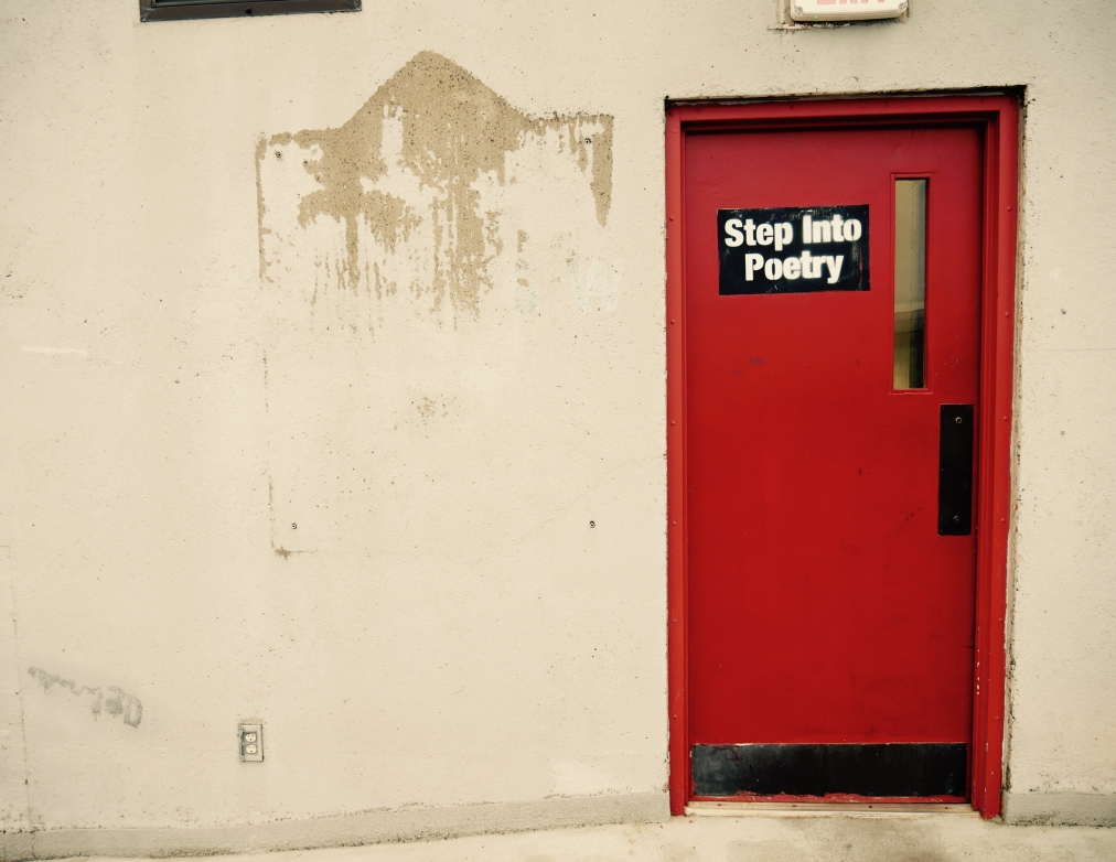 Poems in the ParkingGarage